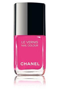 Pink│Rosado, Ah, Chanel! Chanel Nail Polish, Chanel Nails, Pink Nail Polish, Pink Love, Pretty In Pink, Hot Pink, Bright Pink, Vintage Pink, Beauty Makeup