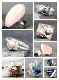 Rings That Rock: Specimen Jewelry From Elseetee - Inspired Bride