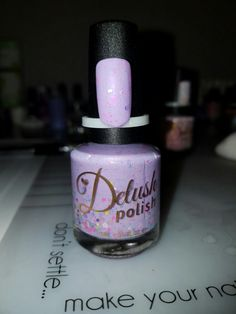 Delush Polish-  Hoping Thistle Cheer You Up (Live Love Polish Exclusive) $14
