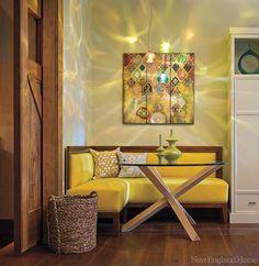 Ideas for corner seating area living room small dining Corner Seating, Booth Seating, Corner Banquette, Dining Corner, Corner Bench, Banquette Seating, Kitchen Corner, Family Room Design, Dining Room Design