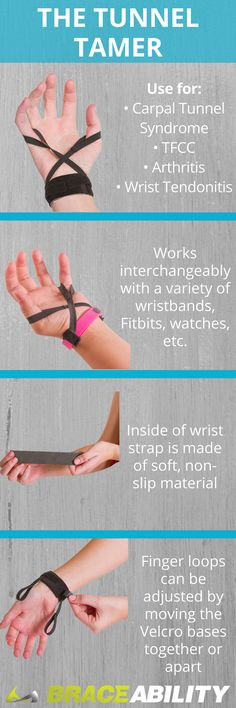 Everyday, your wrists endure a high level of stress, especially if you work on a computer or partake in other repetitive use activities, such as biking, driving, weightlifting, gymnastics, etc. These repetitive, wrist flattening motions can take a toll on the nerves, tendons, ligaments, and bones that make up your wrists, making you susceptible to many types of injuries. The Tunnel Tamer helps open up your carpal tunnel, reducing pressure on your median nerve and decreasing hand pain!