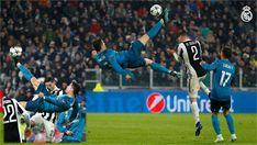 CRISTIANO'S.......Insaaaaaane bicycle-kick goal!!❤ RM vs Juventus [1-Leg] Quarter-finals | UCL 2017-18