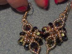 Tutorial orecchini barocco