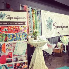 Love some @spoonflower #fabric #quilting #quiltcon