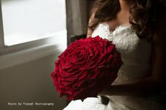 Channel Red Rose bouquet by Anthology Co.