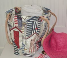 Red Shack Beach Bag by StylishLiving1 on Etsy, $85.00