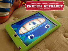 Endless Alphabet app for kids to learn letters, spelling and vocabulary