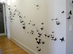 Dimensional Butterfly Wall Decor