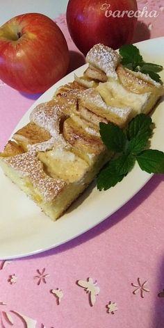 Hrnčekový jablkovo-tvarohový koláč (fotorecept) - recept | Varecha.sk