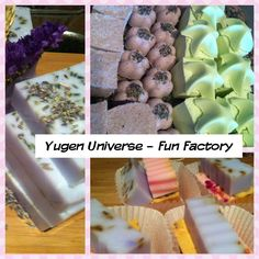 Lavender goats milk soap, bath bombs and starfish lemongrass bath bombs