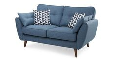 French Connection Zinc 2 seater sofa from DFS
