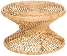 Tavolino boho in rattan Marvel Mesa Exterior, Style Boho, Zen Room, Marvel, Rattan Furniture, Home Living, Marimekko, Reggio, Vintage