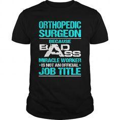ORTHOPEDIC SURGEON T Shirts, Hoodies. Get it here ==► https://www.sunfrog.com/LifeStyle/ORTHOPEDIC-SURGEON-110330521-Black-Guys.html?57074 $22.99