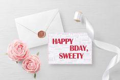 Happy BDay, Sweety!