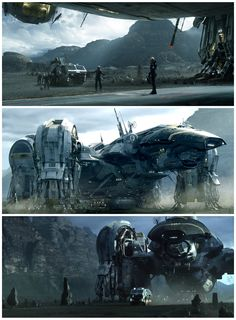 """Prometheus"" Ridley Scott 2012, very ALEINS like, just toned down . . But good just the same!"