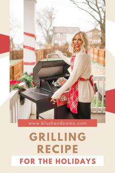 When cooking those big holiday meals, have you ever thought of cooking some of it on your grill? We just got a new one and are so excited to try it out! Here's our recipe for the best ham cooked on a grill! It helps keep the oven open for things that just won't work on the grill and it add that yummy grilled quality to your food! You should definitely try it! #grillingrecipes #holidaycooking #holidaymeals #choosingagrill
