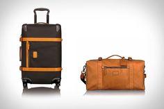 "Tumi 1975 Luggage. (""Tumi 1975 Luggage"", the year of the company's founding)."