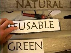 Burning letters into old picket fence wood for store signs.simple and fast! Create fonts or designs on a Word document, tape to wood with carbon paper underneath, trace, lift off, burn in outline and fill. Wood Burning Crafts, Wood Burning Patterns, Wood Burning Art, Wood Crafts, Create Font, Carbon Paper, Got Wood, Handmade Signs, Woodland Decor