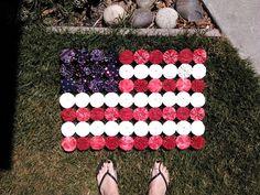 My Yo-Yo Flag is finished!!! xxooxxoo