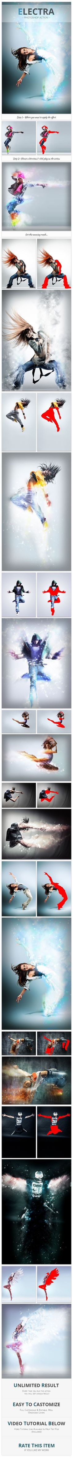 Electra - Photoshop Action. Download here: https://graphicriver.net/item/electra-photoshop-action/17164883?ref=ksioks