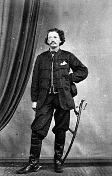 Gustavus von Tempsky - Wikipedia, the free encyclopedia Nz History, New Zealand Art, Defence Force, King Of Kings, Victorian Era, Warfare, My Works, Funny Photos, New Art