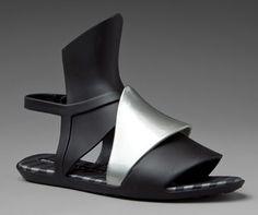 Melissa - Aileron + Gareth Pugh Sandal - Revolve Clothing