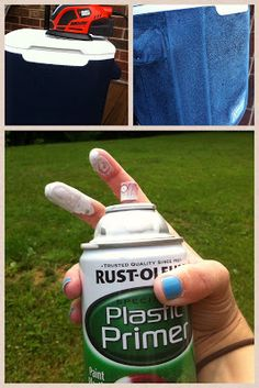 how to paint coolers.. I'm def going to paint me a cute cooler for next summer! Yes!