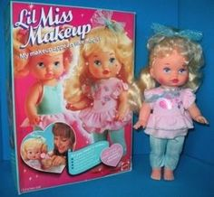 """Lil Miss Makeup 