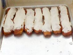 Throwback Thursday: Long John Rolls - Amish Recipes Oasis News features....this is hubby's fav. dessert....I might need to try this!