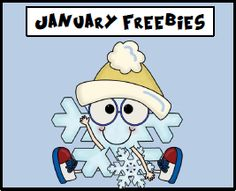 A Pinterest board full of fabulous freebies to use in the classroom for the month of January.