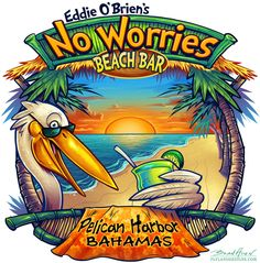 surfing pelican cartoon - Recherche Google