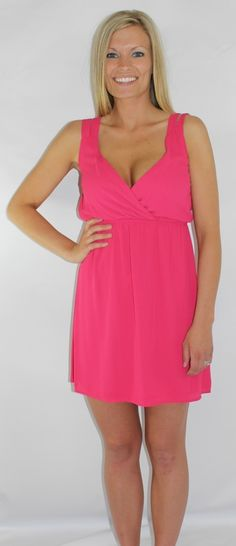 Kiki La'Rue - The Aurea Dress - Fuschia, $20.00 (http://www.kikilarue.com/the-aurea-dress-fuschia/)