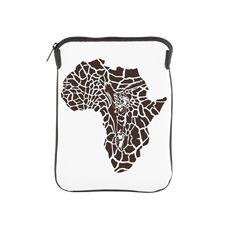 Africa in a giraffe camouflage iPad Sleeve