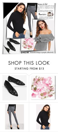 """SheIn 1"" by melissa995 ❤ liked on Polyvore featuring Oliver Gal Artist Co."