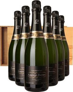 This superb Brut Millésimé is a 50-50 blend of Chardonnay and Pinot Noir #sparkling #wine #champagne #alcohol