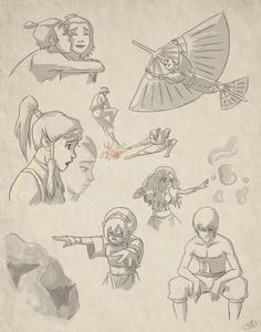 Avatar Sketchdump by JazzySatinDoll.deviantart.com on @deviantART
