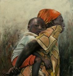 James Van Fossan (1964)  African Woman and Baby