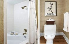 Contemporary Small Bathroom Makeovers ~ http://lanewstalk.com/important-things-for-small-bathroom-  This one is my favorite so far