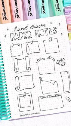 Bullet Journal Paper, Bullet Journal Headers, Bullet Journal Notebook, Bullet Journal School, Bullet Journal Ideas Pages, Bullet Journal Inspiration, Book Journal, To Do Planner, Bullet Journal Aesthetic
