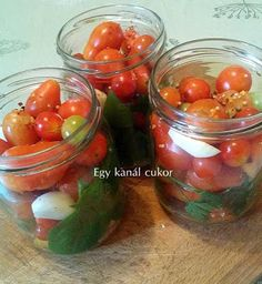 Lithuanian Recipes, Lithuanian Food, Three Sisters, Ketchup, Mason Jars, Recipies, Stuffed Peppers, Vegetables, Poland