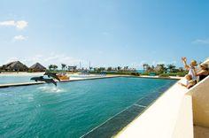 Dreams Cancun Family All-Inclusive Resort located in Cancun, Mexico