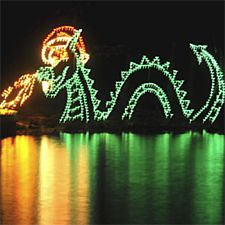 Tanglewood Park festival of lights (Clemmons, NC--Just outside of Winston-Salem). Annual drive-through holiday light show. $10.00 per family car Monday through Thursday, $15.00 per car Friday through Sunday.