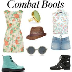 """How to Style Combat Boots"""