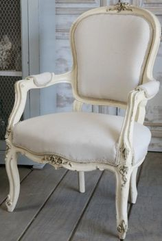 Vintage French arm chair.