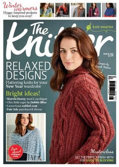 As the first quality magazine for skilled knitters, expect striking new ideas from top designers, step-by-step guides and a pattern booklet in every issue. Vogue Knitting, Knitting Books, Crochet Books, Knit Crochet, Knitting Magazine, Crochet Magazine, Jacket Pattern, Vogue Magazine, Pattern Books
