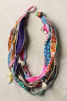 DIY Anthropologie-Inspired Scarf Necklace | Scarves.net