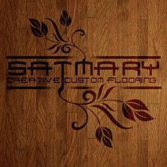Satmary creative custom floors Logo Designed by Spectra Marketing Solutions.    Need graphic design? visit www.spectrams.com