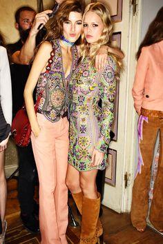 Emilio Pucci SS15 Fashion Show Milan Backstage | Sonny Vandevelde