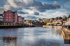 #Exeter #Quay #ExeterQuay #Clouds #Cloudysky #Helmores #Crediton #Devon