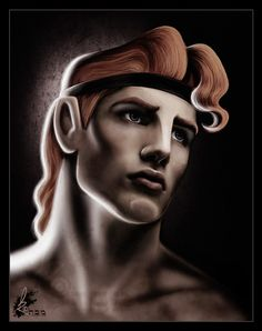 Disney Heros: Hercules by David Kawena